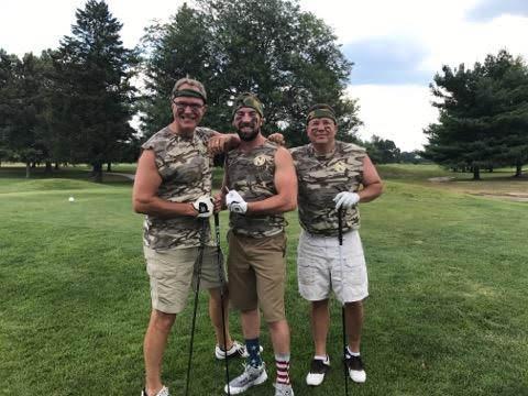 Camo Golf Team